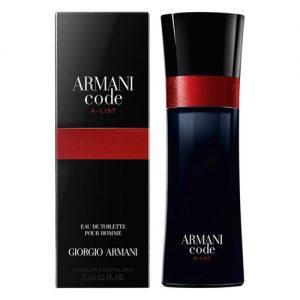 GIORGIO ARMANI CODE A-LIST EDT FOR MEN