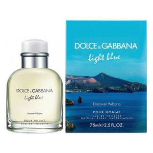 D&G LIGHT BLUE DISCOVER VULCANO EDT FOR MEN