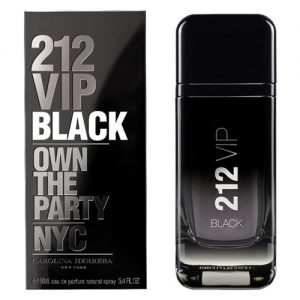 CAROLINA HERRERA 212 VIP BLACK NYC EDP FOR MEN