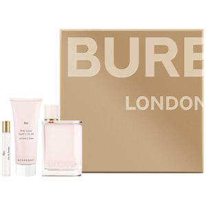 BURBERRY HER 3 PCS GIFT SET FOR WOMEN4