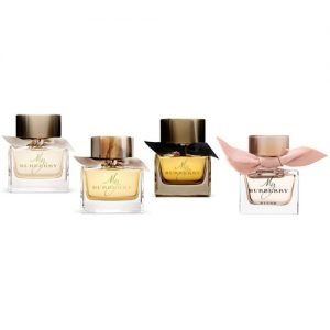 BURBERRY MY BURBERRY 4 PCS MINIATURE GIFT SET FOR WOMEN