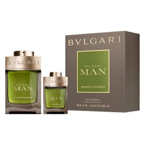 BVLGARI MAN WOOD ESSENCE 2 PCS GIFT SET FOR MEN