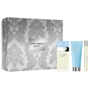 D&G LIGHT BLUE 3 PCS GIFT SET FOR WOMEN