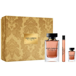 D&G THE ONLY ONE 3 PCS GIFT SET FOR WOMEN