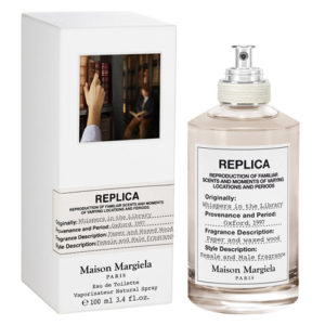 MAISON MARGIELA REPLICA WHISPERS IN THE LIBRARY EDT FOR UNISEX