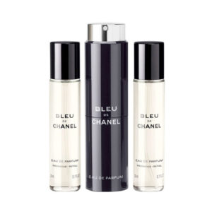 CHANEL BLEU DE CHANEL EDP TRAVEL SPRAY AND 2 REFILLS FOR MEN