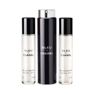 CHANEL BLEU DE CHANEL EDT TRAVEL SPRAY AND 2 REFILLS FOR MEN