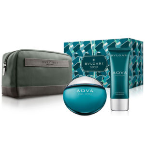 BVLGARI AQVA POUR HOMME 3 PCS GIFT SET FOR MEN