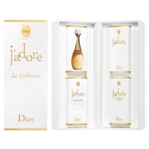 CHRISTIAN DIOR J'ADORE LA COLLECTION 4 PCS MINIATURE GIFT SET FOR WOMEN