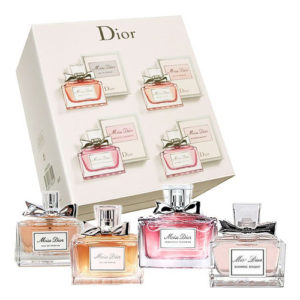 CHRISTIAN DIOR MISS DIOR LA COLLECTION 4 PCS MINIATURE GIFT SET FOR WOMEN 1