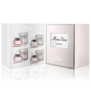 CHRISTIAN DIOR MISS DIOR LA COLLECTION 4 PCS MINIATURE GIFT SET FOR WOMEN