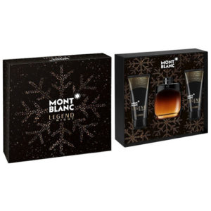 MONT BLANC LEGEND NIGHT 3 PCS GIFT SET FOR MEN