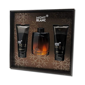 MONT BLANC LEGEND NIGHT 3 PCS GIFT SET FOR MEN131