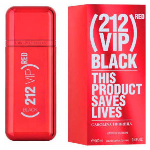 CAROLINA HERRERA 212 VIP BLACK RED EDP FOR MEN