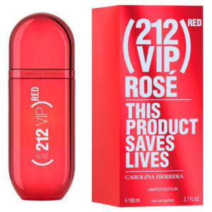 CAROLINA HERRERA 212 VIP ROSE RED EDP FOR WOMEN