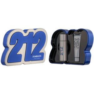 CAROLINA HERRERA 212 MEN NYC 3 PCS GIFT SET EDT FOR MEN