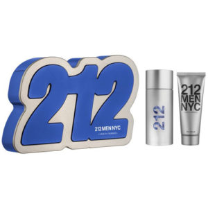 CAROLINA HERRERA 212 MEN NYC 3 PCS GIFT SET EDT FOR MEN1