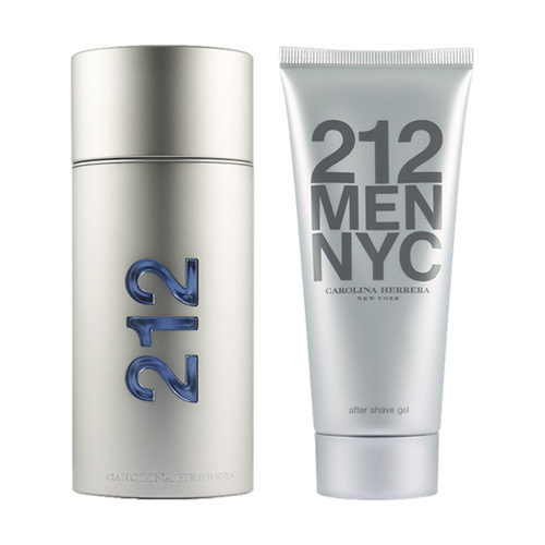 CAROLINA HERRERA 212 MEN NYC 3 PCS GIFT SET EDT FOR MEN5