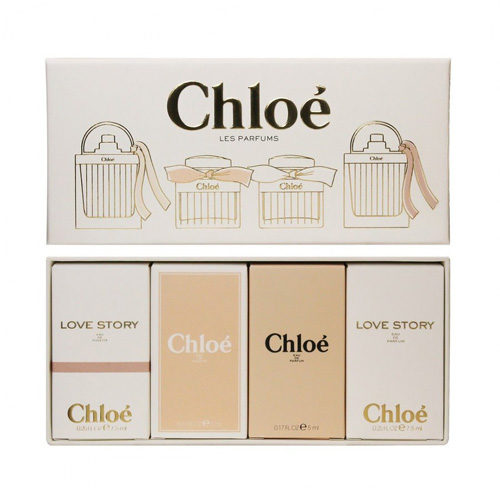 CHLOE MINIATURE COLLECTION 4 PCS GIFT SET FOR WOMEN