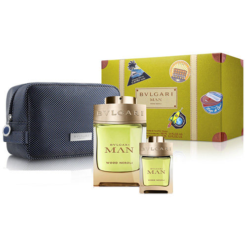 BVLGARI MAN WOOD NEROLI 2020 GIFT SET FOR MEN