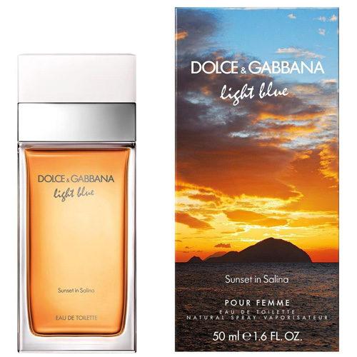 D&G LIGHT BLUE SUNSET IN SALINA EDT FOR WOMEN
