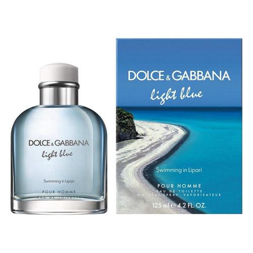 D&G LIGHT BLUE SWIMMING IN LIPARI EDT FOR MEN