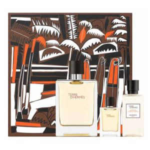 HERMES TERRE D'HERMES EDT 3 PCS GIFT SET FOR MEN