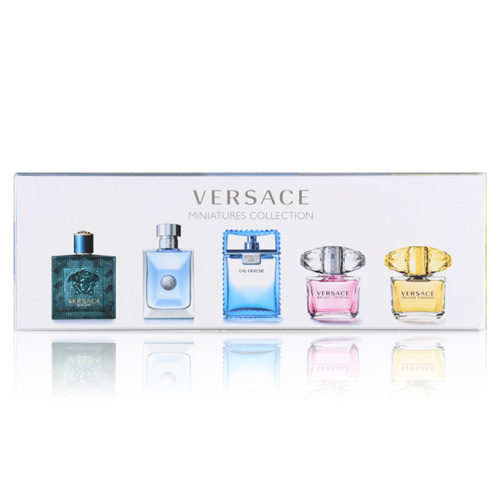 VERSACE MINIATURES COLLECTION 5 PCS GIFT SET FOR MEN AND WOMEN1