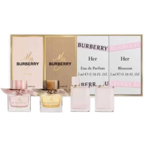 BURBERRY TRAVEL EXCLUSIVE 4 PCS MINIATURE GIFT SET FOR WOMEN12321