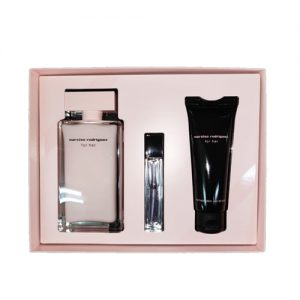 NARCISO RODRIGUEZ FOR HER EDP 3 PCS GIFT SET FOR WOMEN1