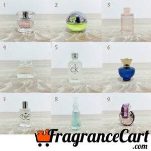 FragranceDome Perfume Selection 1-9